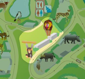 [マップ]ゾーン3:類人猿とサル