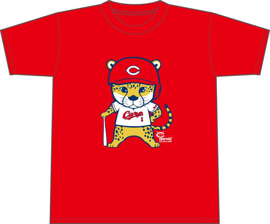 Tシャツ:チーター